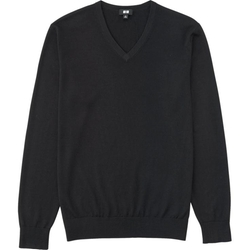 Uniqlo - Extra Fine Merino V-Neck Sweater