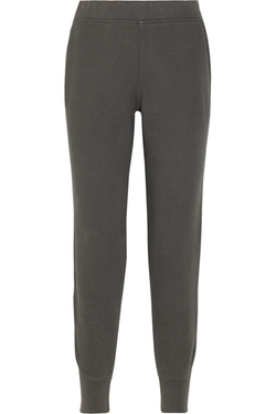 T By Alexander Wang - Cotton-Blend Fleece Sweatpants