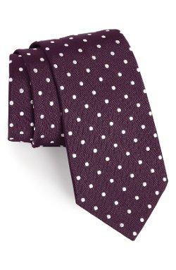 Gitman - Polka Dot Silk Tie