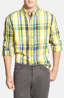 Vintage 1946  - Regular Fit Plaid Sport Shirt