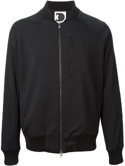 Delikatessen  - Zipped Bomber Jacket