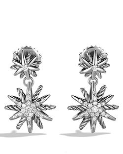David Yurman - Starburst Double-Drop Earrings