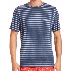 Surfside Supply Co.  - Yarn-Dyed Striped Pocket Tee