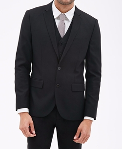 21 Men - Piqué Suit Jacket