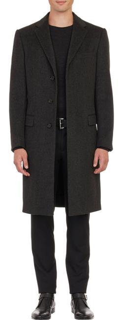 Ralph Lauren Black Label  - Melton Overcoat