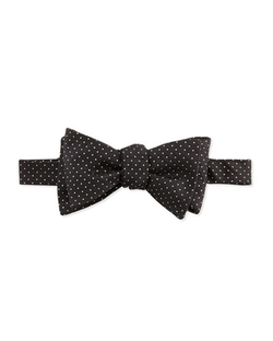 Edward Armah - Glitter-Dot Silk Bow Tie