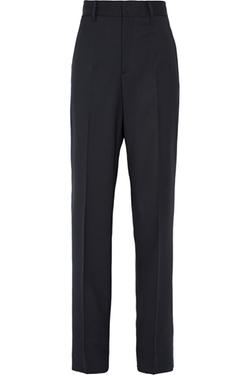 Miu Miu - Stretch Wool-Blend Straight-Leg Pants