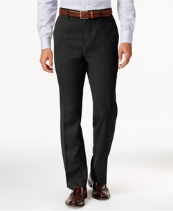 Louis Raphael  - Hidden Extention Straight-Fit Dress Pants