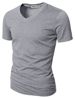 Doublju -  Mens V-Neck T-shirts