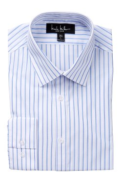 Nicole Miller  - Pinstripe Dress Shirt