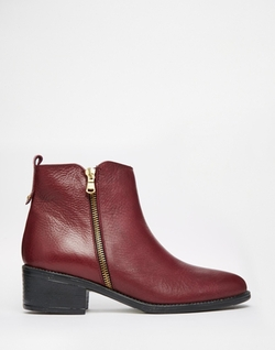 Oasis  - Zip Detail Ankle Boots