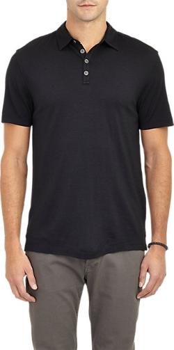 John Varvatos - Short-Sleeve Polo Shirt