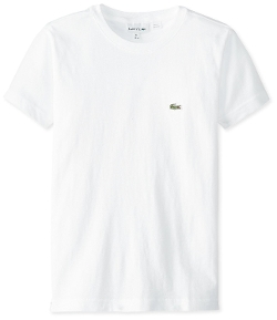 Lacoste - Short Sleeve Jersey Crew Neck Tee Shirt