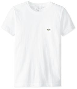 Lacoste - Short Sleeve Jersey Crew Neck Tee Shirt