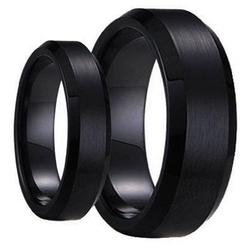 Tungsten Ring Set - Carbide Wedding Band Set
