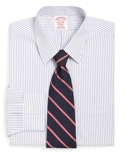 Brooks Brothers - Traditional Fit Pencil Stripe Dress Shirt