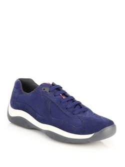Prada  - Punta Ala Suede Sneakers