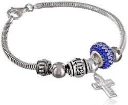 Amazon Curated Collection - Faith All Things Are Possible Bead Bracelet