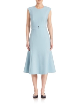 Boss - Blurred Focus A-Line Dress