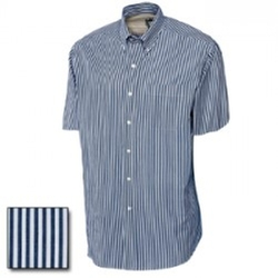 Cutter And Buck - Short Sleeve Bengal Stripe Shirt