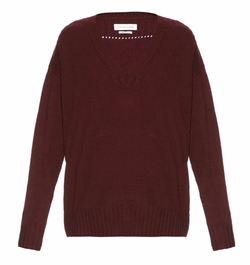Isabel Marant Étoile  - Marly V Neck Knit Sweater
