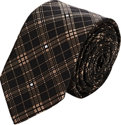 Givenchy - Checked Jacquard Necktie
