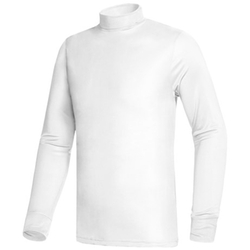 Terramar  - Silk Interlock Turtleneck Sweater