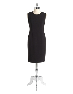 Calvin Klein - Calvin Klein Darted Sheath Dress