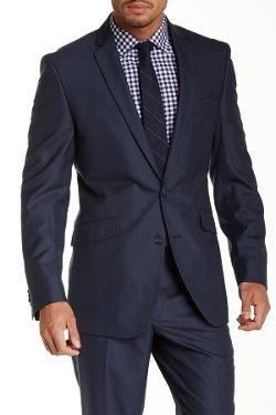 Kenneth Cole New York  - Two Button Component Jacket