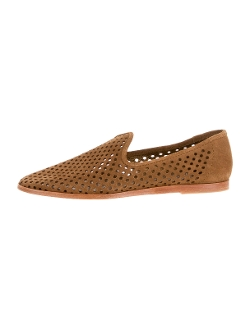 Pedro Garcia - Suede Perforated Loafers