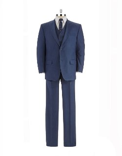 Sean John  - Modern Fit Three-piece Suit
