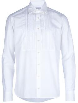 Kolor  - Panelled Bib Shirt