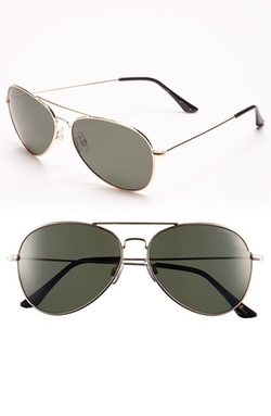 Polaroid Eyewear  - Polarized Aviator Sunglasses