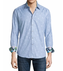 Robert Graham  - High Desert Thin-Striped Woven Sport Shirt
