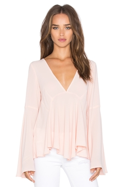 Lucy Paris - Bell Sleeve Top