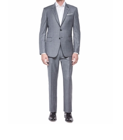 Paul Smith  - Bayard Sharkskin Two-Piece Wool Suit