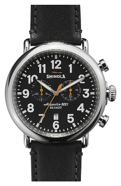 Shinola - Runwell Chrono Leather Watch