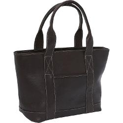 Le Donne Leather  - Double Strap Small Pocket Tote