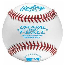 Rawlings  - T-Ball Indoor/Outdoor Soft Baseball