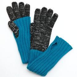 Grandoe Avenue  - Knit Mock-Layer Tech Gloves