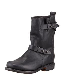 Rag & Bone  - Moto Leather Boot, Black