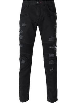 Philipp Plein - Distressed Skinny Jeans
