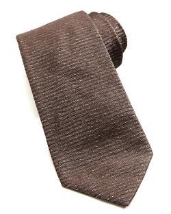 Armani Collezioni  - Solid Horizontal-Stripe Tie