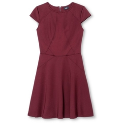 Mossimo - Fit and Flare Dress w/ Cap Sleeves