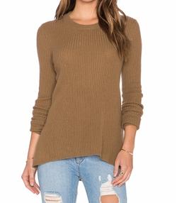 Enza Costa - Cashmere Flare Sweater