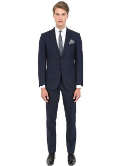 Ermenegildo Zegna  - Cool Effect Wool & Silk Blend Suit