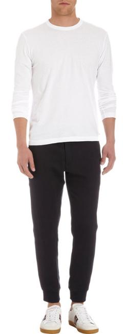 James Perse  - Long Sleeve Crewneck Tee