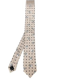 Dolce & Gabbana - Skull & Cross Bone Print Tie