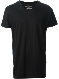 Kris Van Assche - V-neck T-Shirt