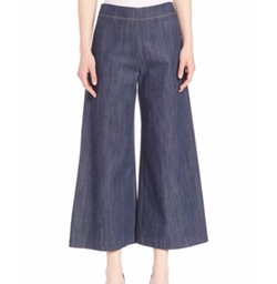 Adam Lippes - Solid Cotton Culottes Pants